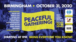 Event 202 - Birmingham - Peaceful Gathering 103120