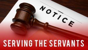 Serving the Servants