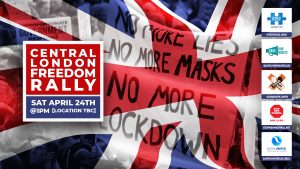 Central London Freedom Rally