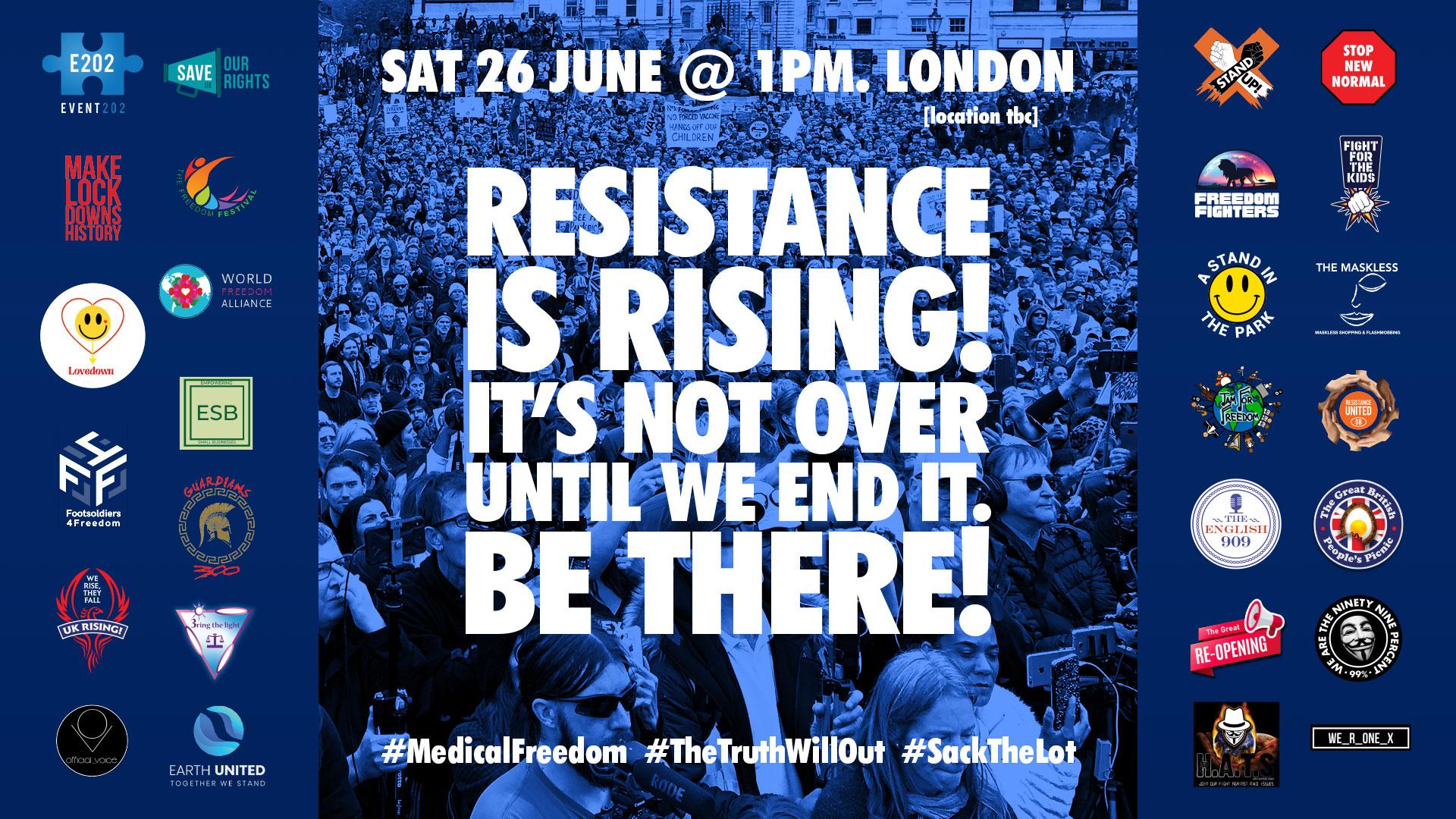 #UniteForFreedom